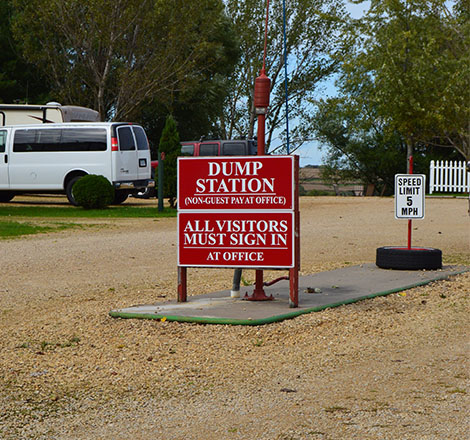 Dump Station | Camping Discounts in Kieler, WI